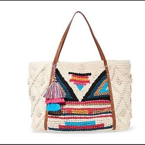 Steve Madden Boho Sweater Amazing Tote, NWT 1 left